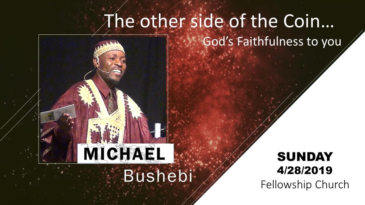 Michael Bushebi Apirl 2019